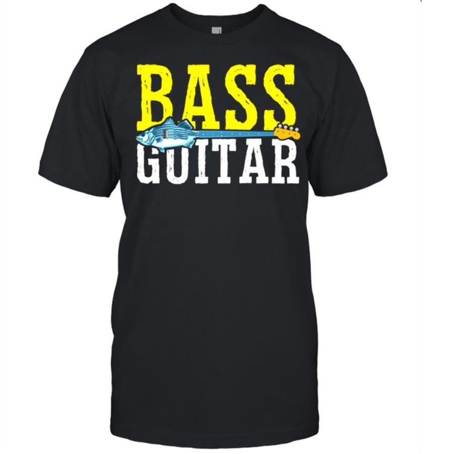 Bass Player Fishing Fisherman Guitar Musician s unisex, hoodie, sweatshirt