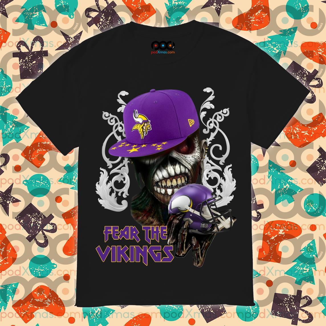 Iron Maiden Eddie Fear the Vikings shirt