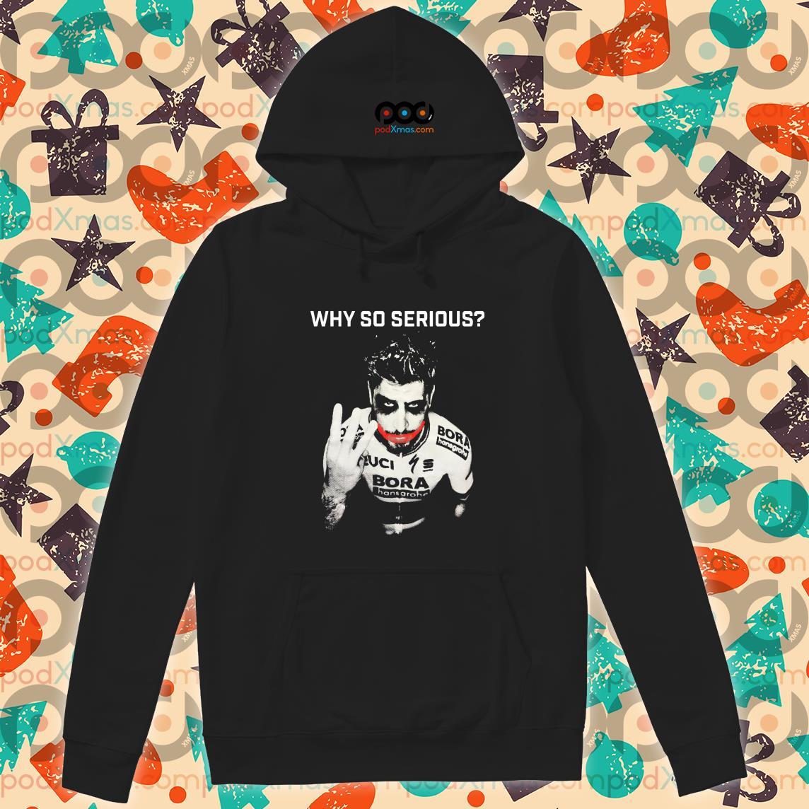 Peter Sagan Joker Why so serious hoodie
