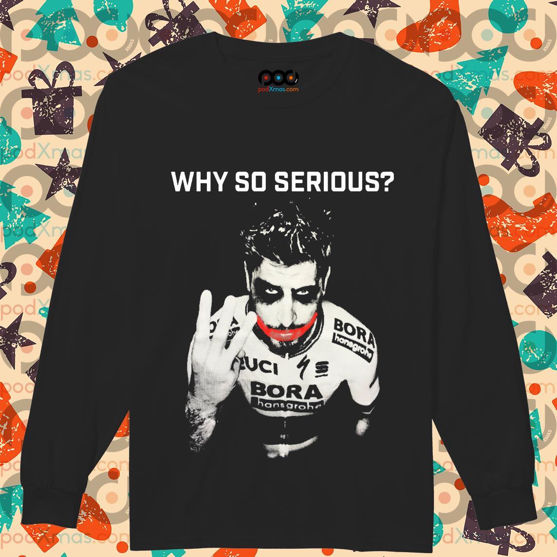 Peter Sagan Joker Why so serious longsleeved