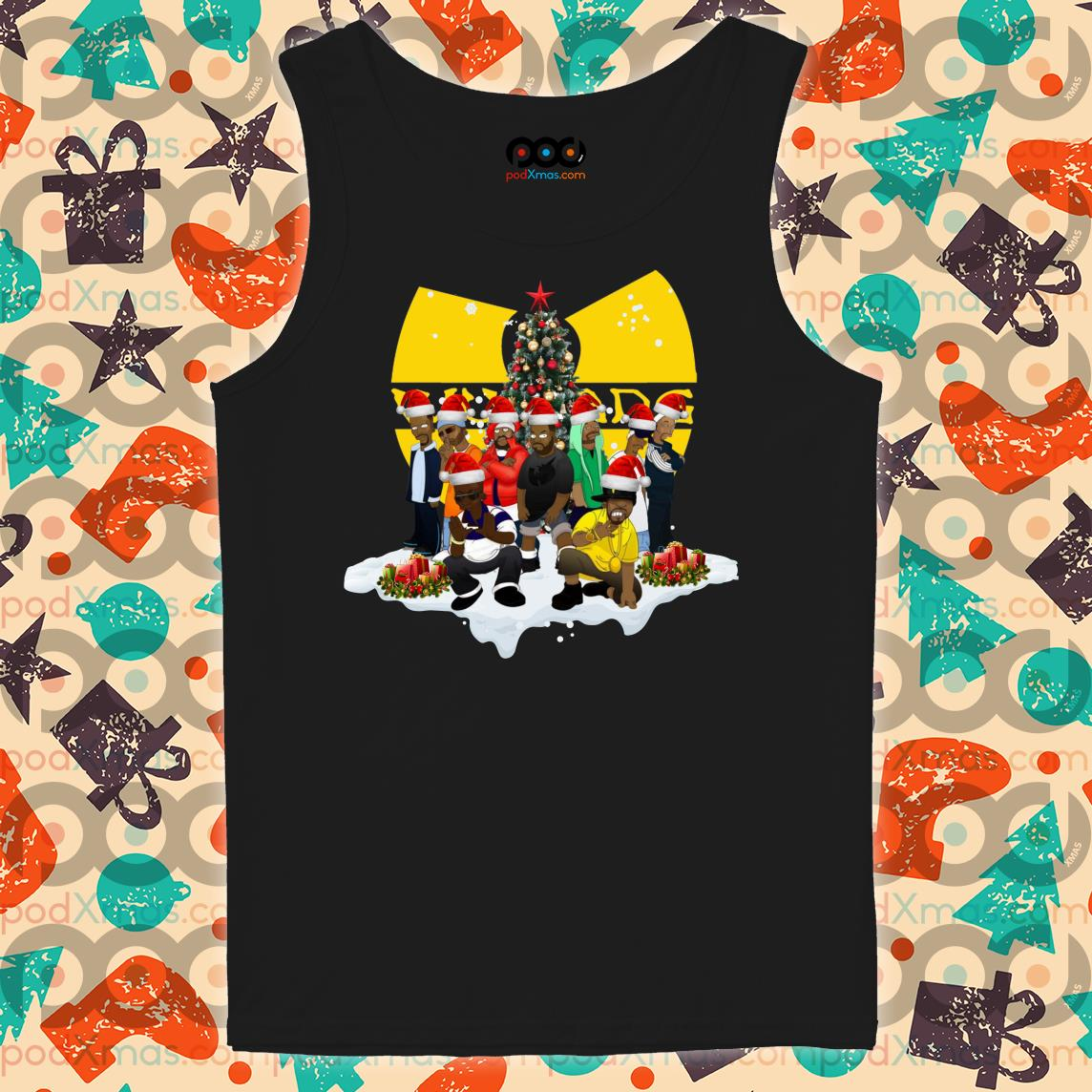 Wu Tang Clan Christmas tank top