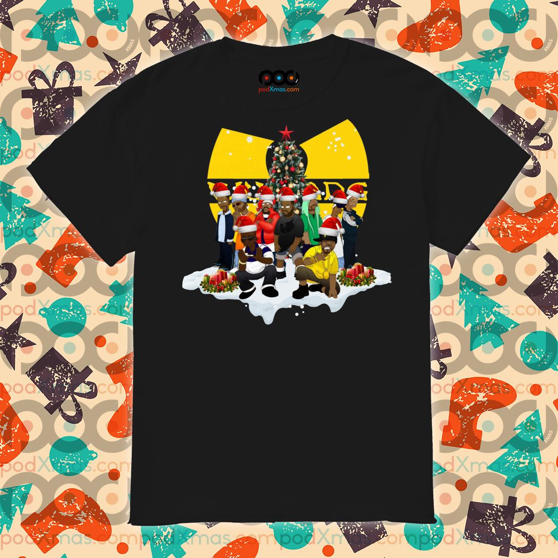 Wu Tang Clan Christmas shirt
