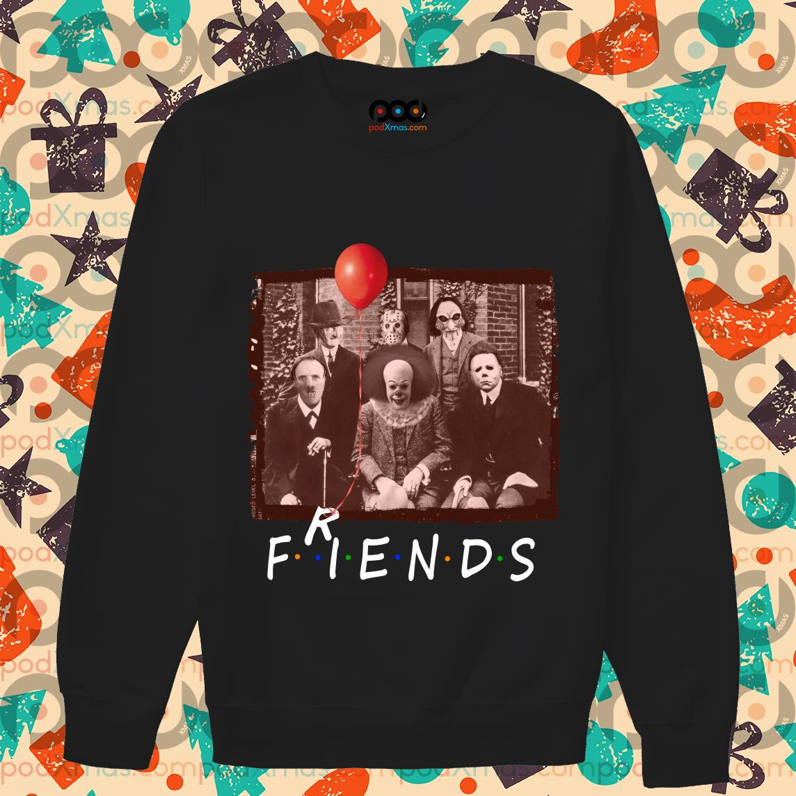 Friends Horror Halloween team sweater