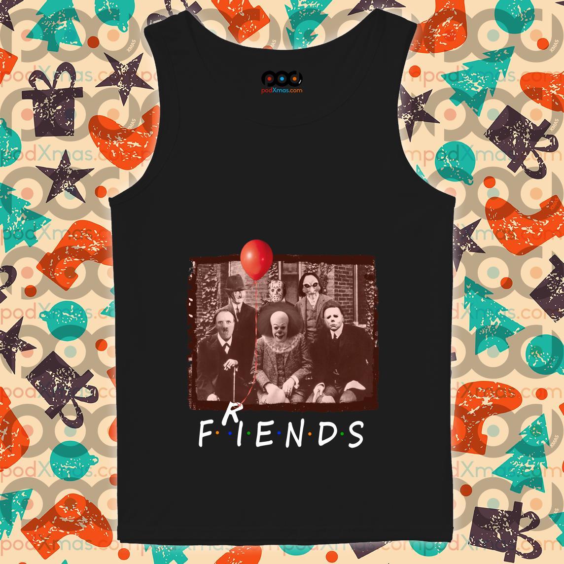 Friends Horror Halloween team tank top