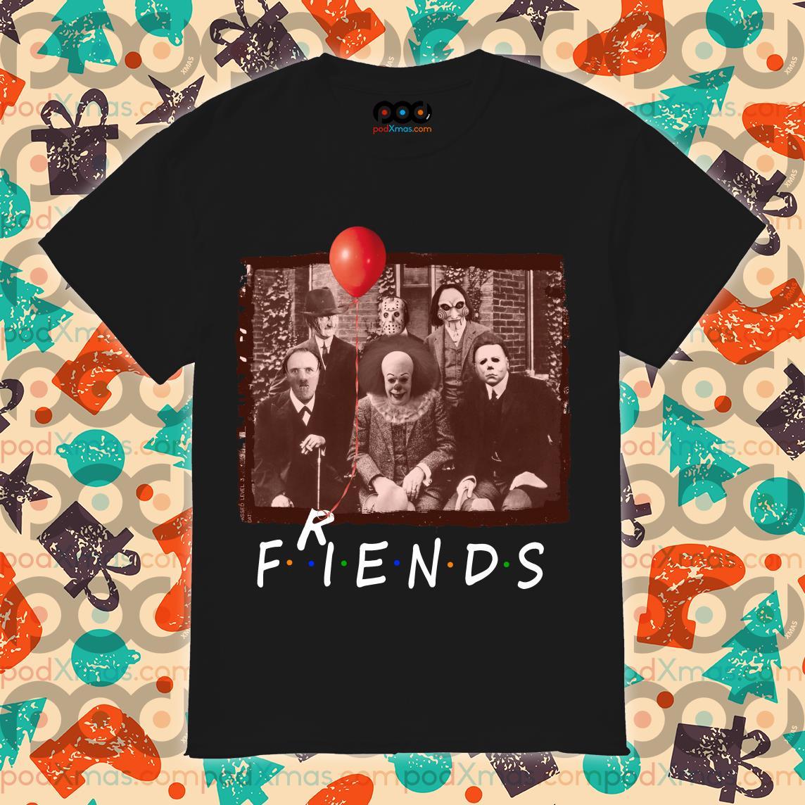 Friends Horror Halloween team shirt
