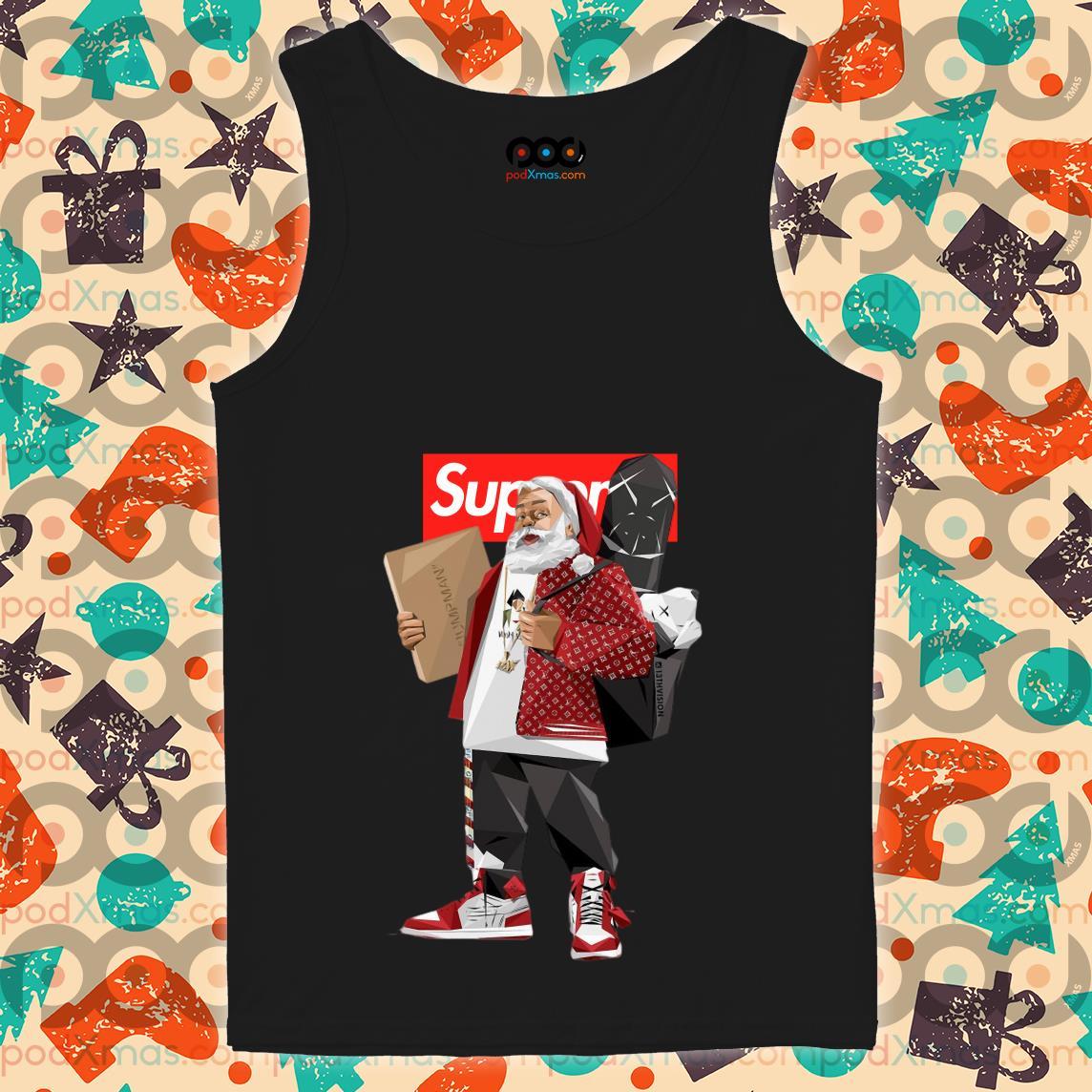 Santa Claus Supreme hiphop tank top