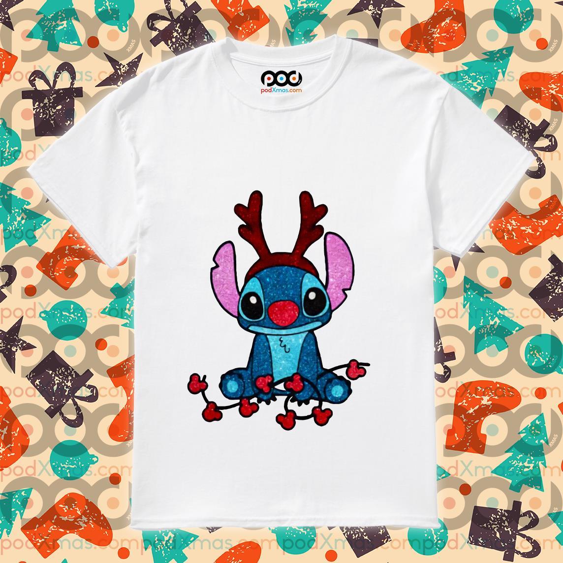 Stitch Reindeer Christmas shirt
