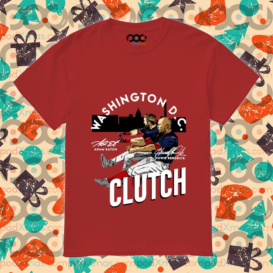 Washington D.C Clutch shirt