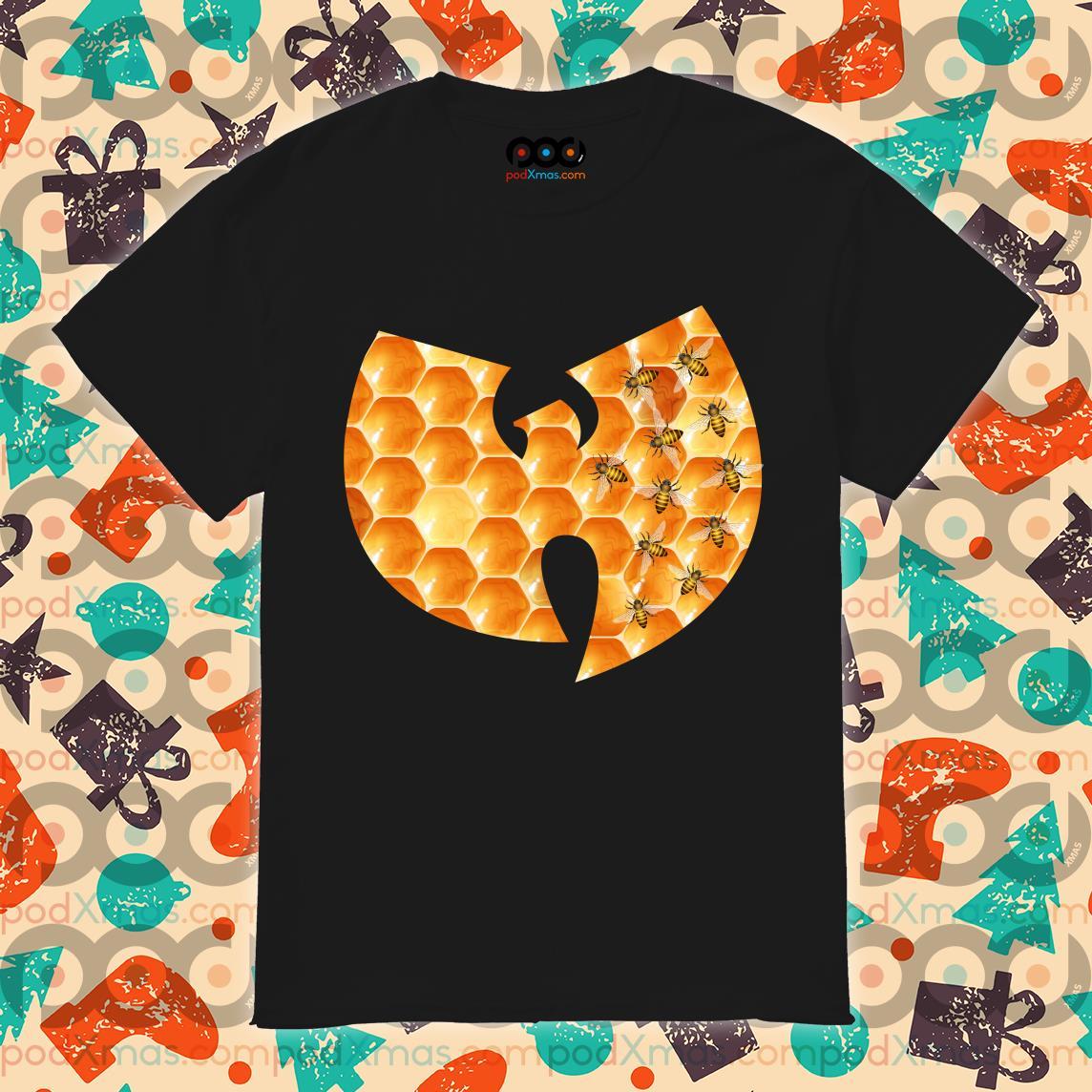 Wu-tang clan logo hive shirt