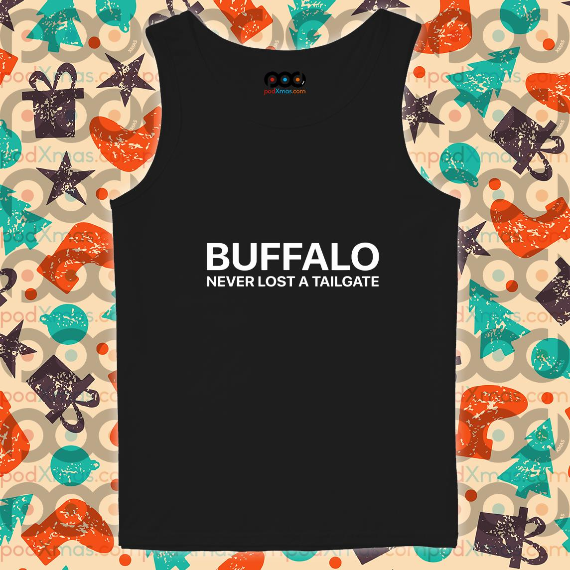 Buffalo Never lost a Tailgate tank top