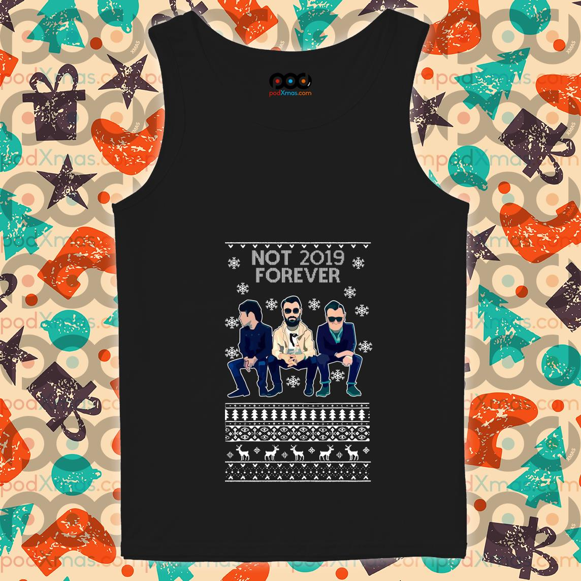 The Courteeners Not 2019 forever Christmas tank top