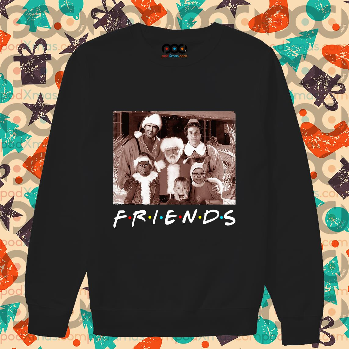 Friends Christmas holiday Grinch Elf Santa Clark Griswold Kevin sweater