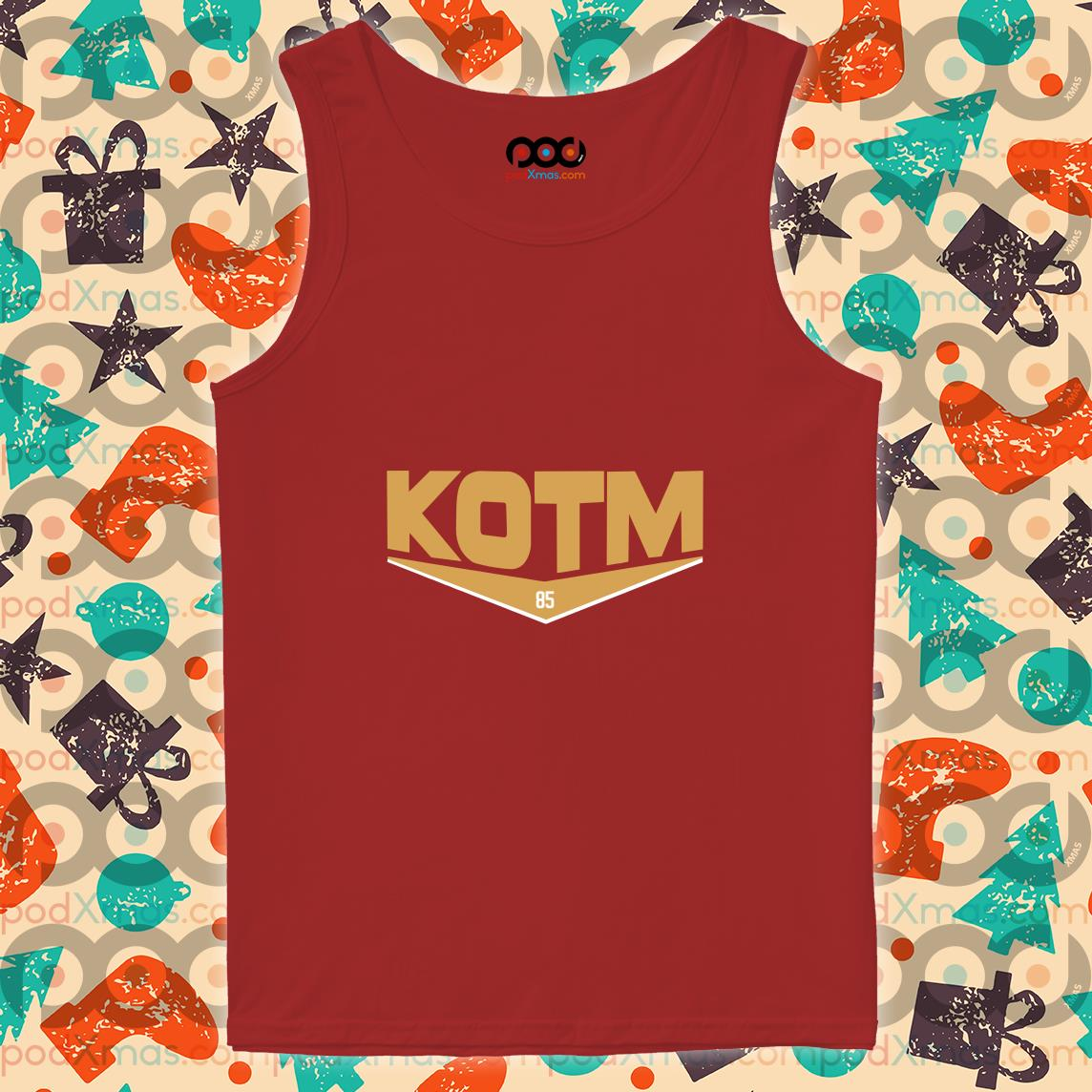 George Kittle KOTM 85 tank top