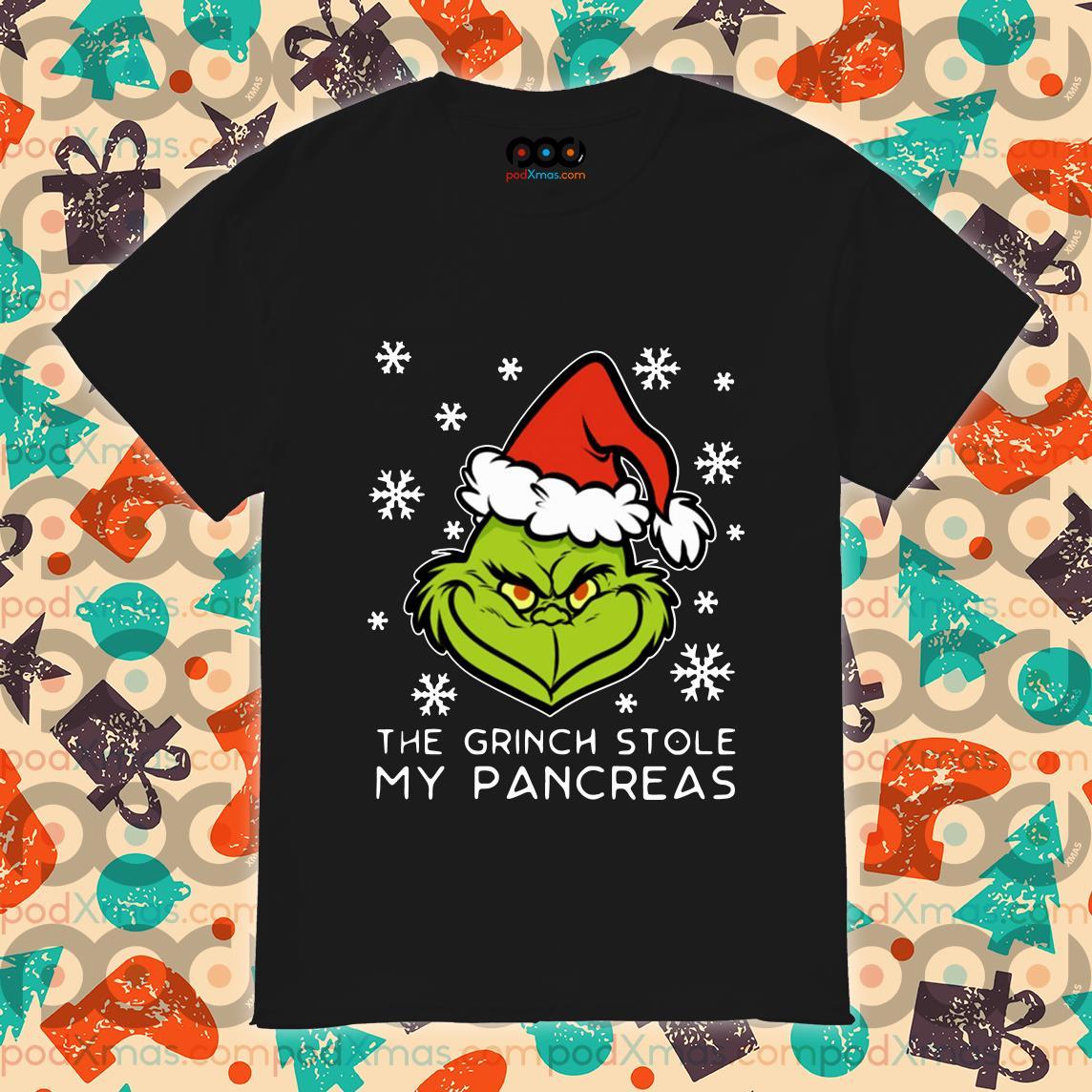 The Grinch Stole my pancreas shirt
