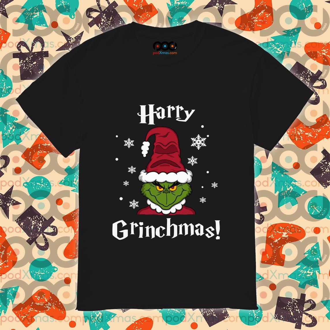 Harry Grinchmas Sorting Hat shirt