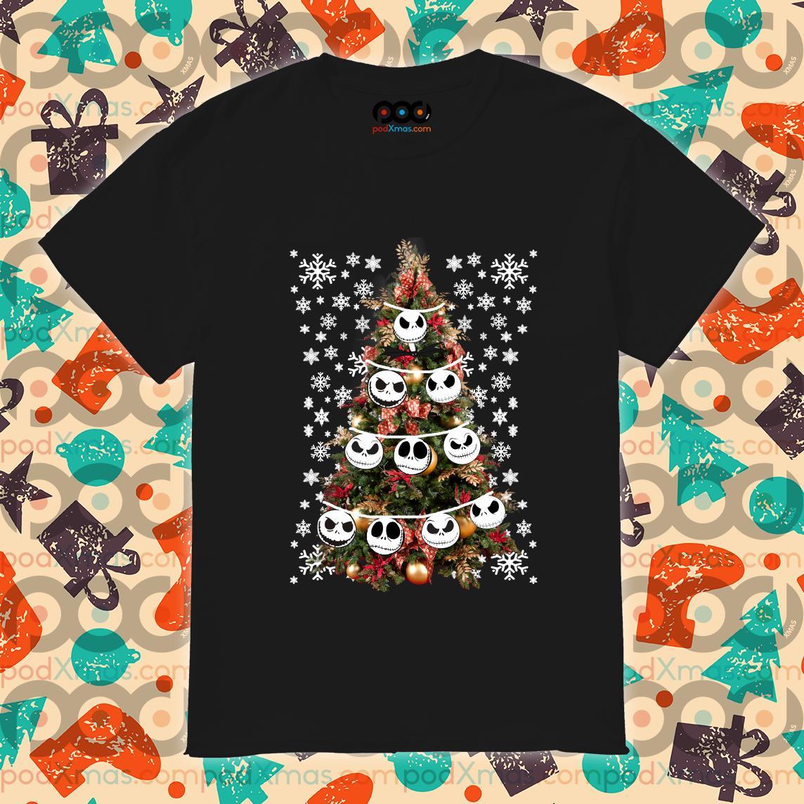 Jack Skellington Christmas tree shirt