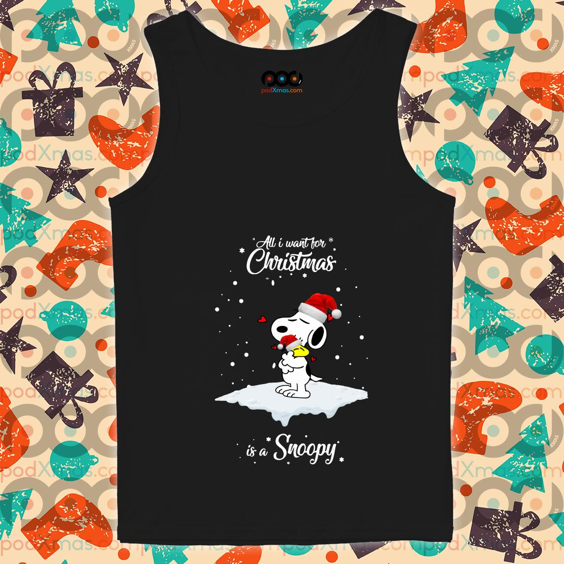 All I want for Christmas is a Snoopy tank top