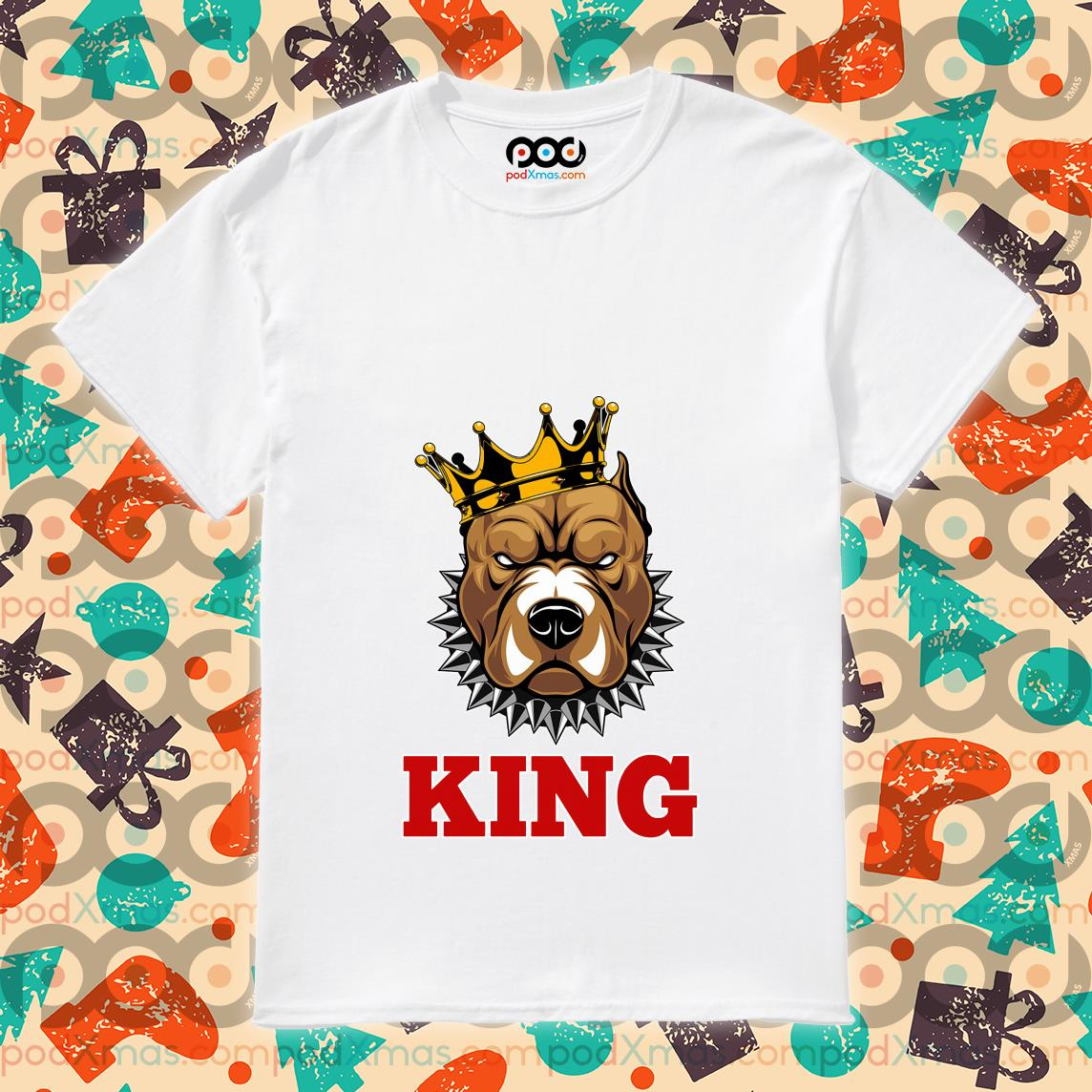 Chicago Bears Pitbull King Shirt