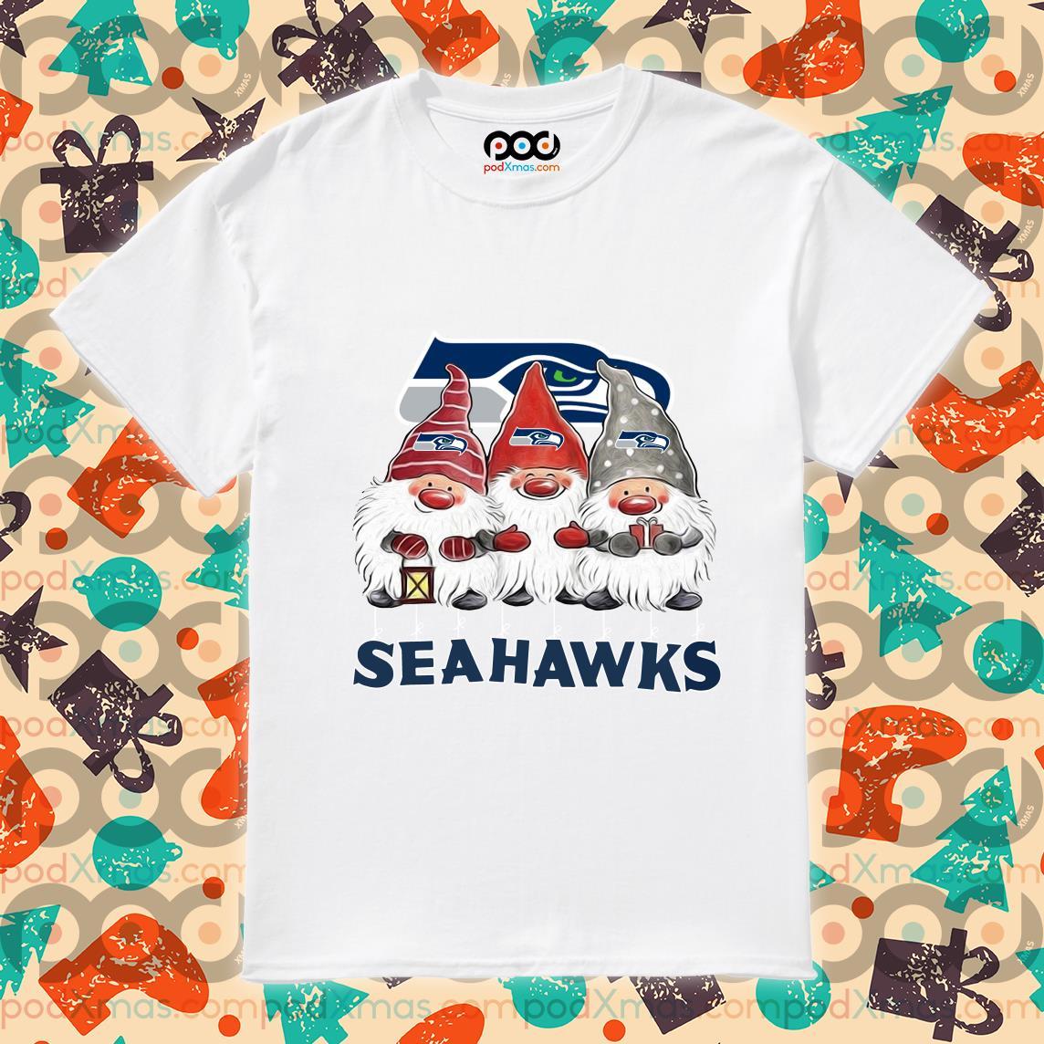 Gnomies Seahawks Christmas shirt