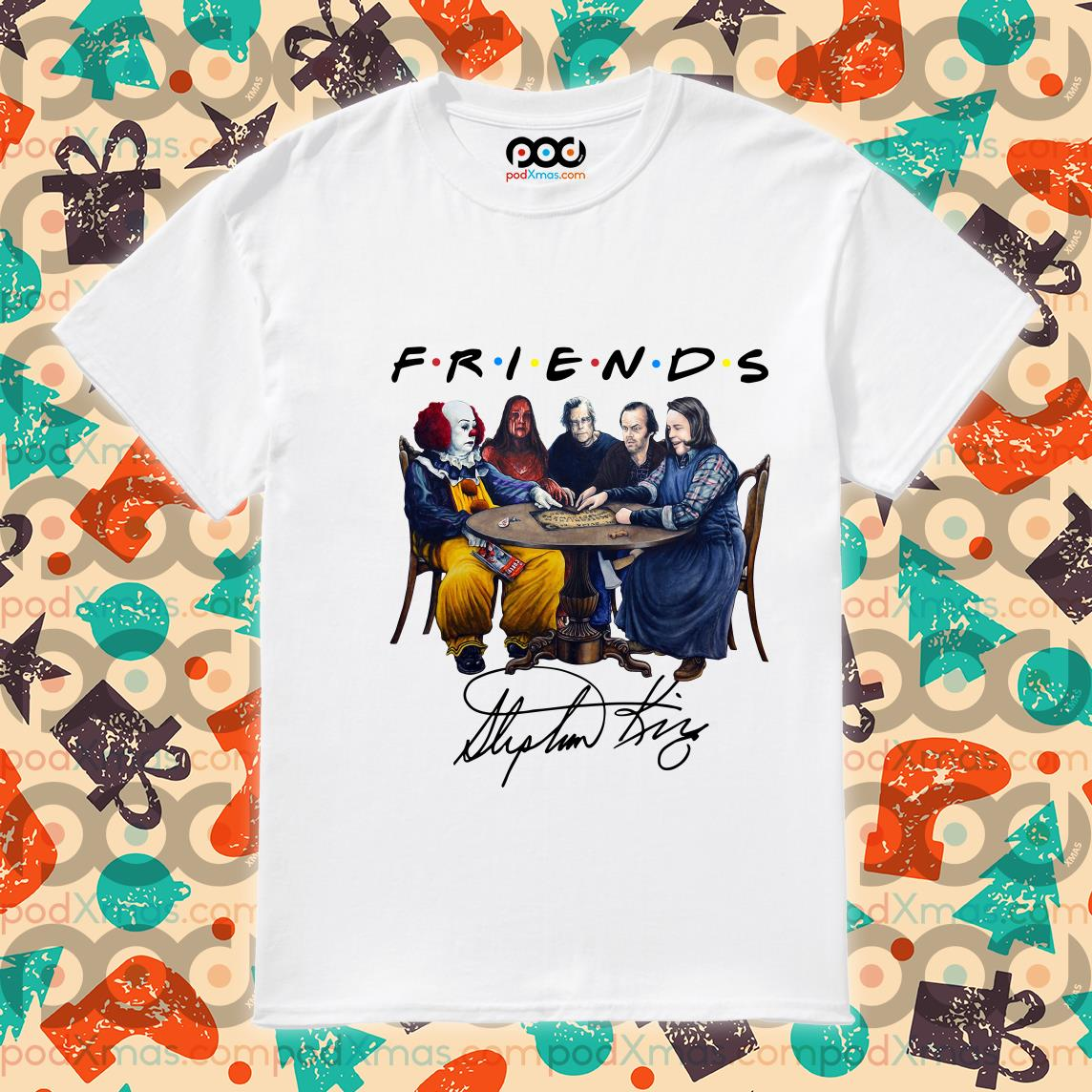 Horror Friends Stephen King Signature shirt