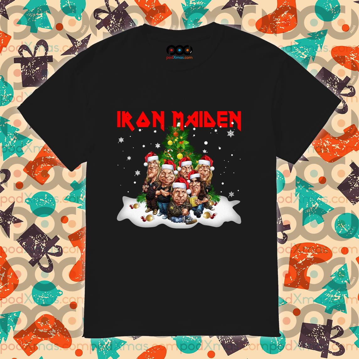 Iron Maiden Merry Christmas Funny shirt