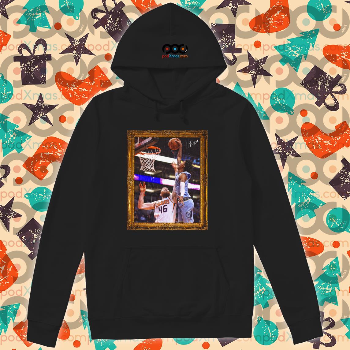 Ja Morant Aaron Baynes' Funeral Poster hoodie