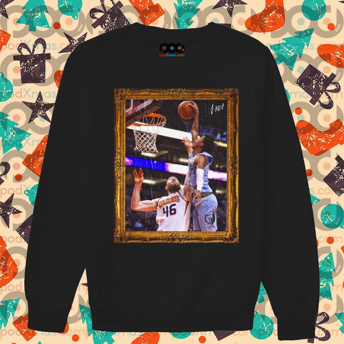 Ja Morant Aaron Baynes' Funeral Poster sweater