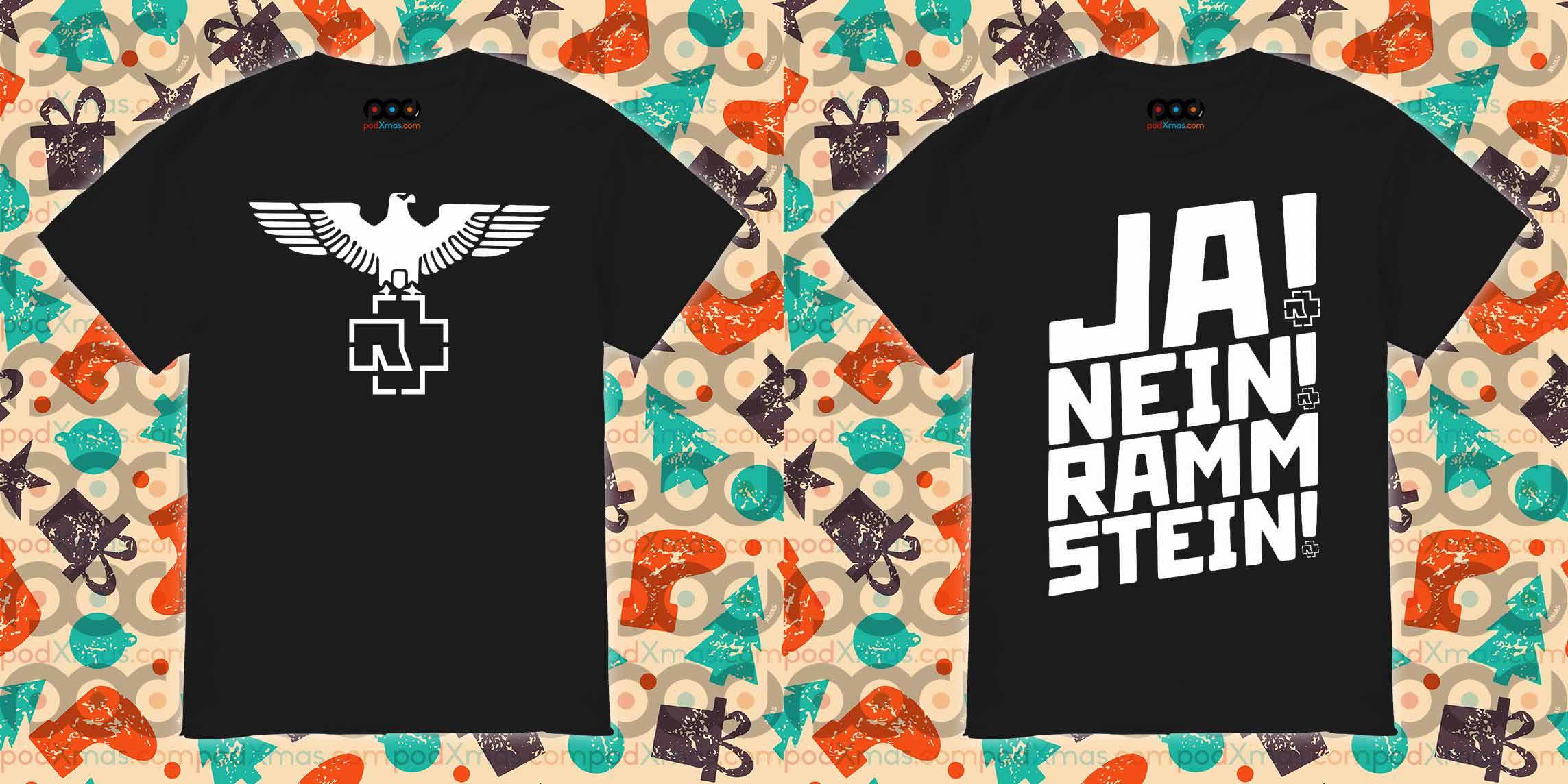 Ja Nein Rammstein shirt
