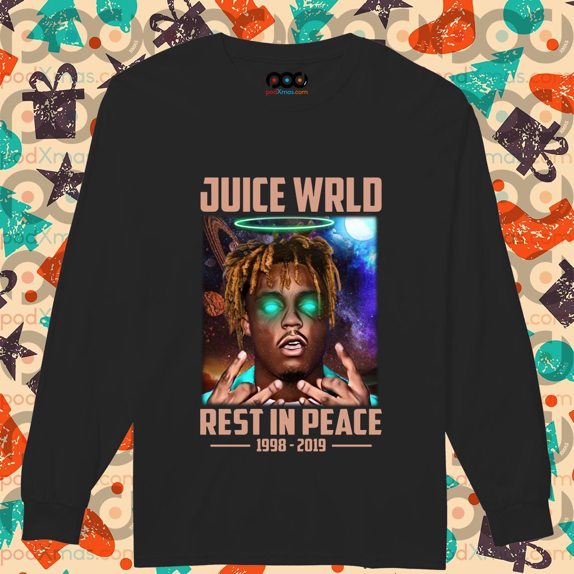 Juice Wrld Rest In Peace 1998 2019 longsleeved