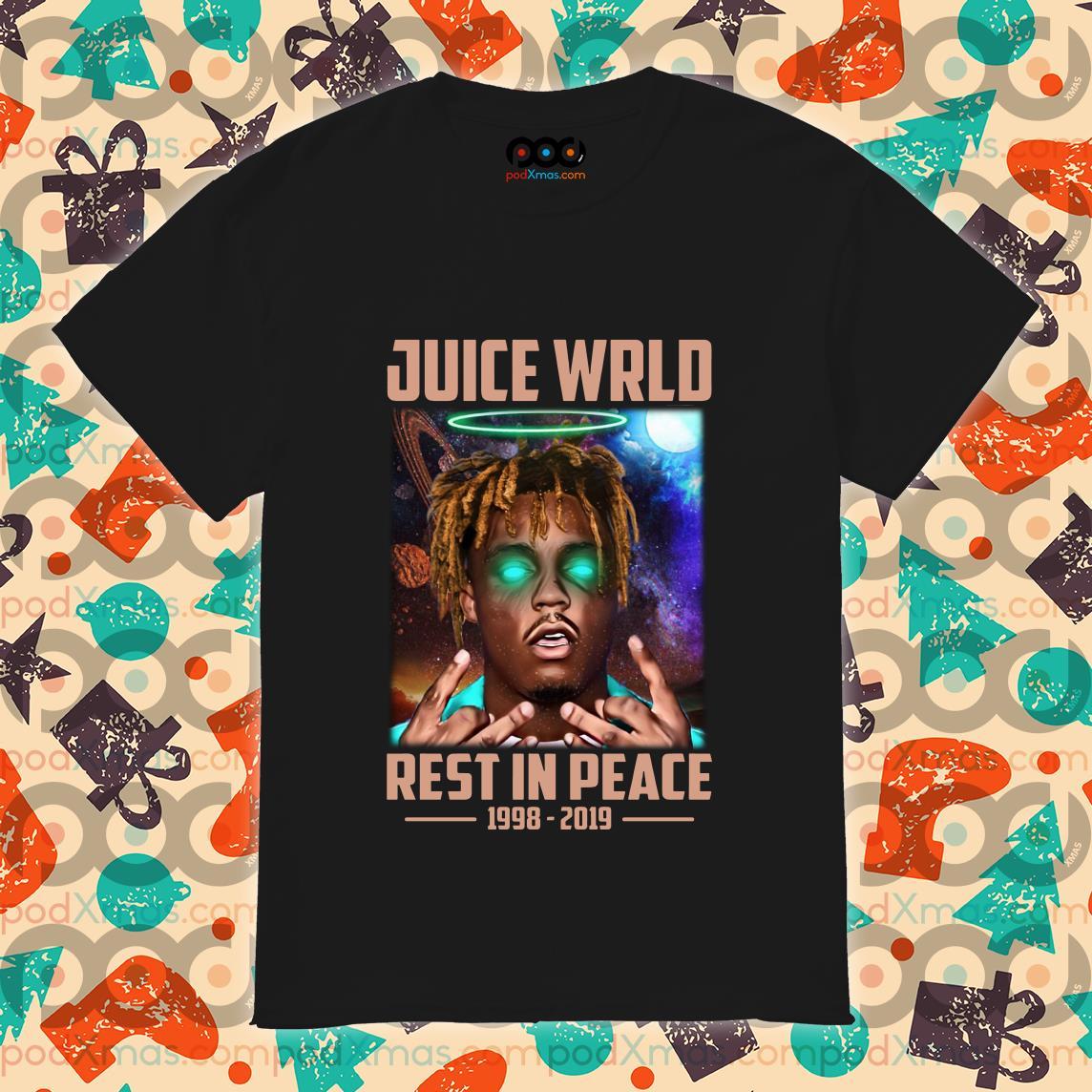 Juice Wrld Rest In Peace 1998 2019 shirt