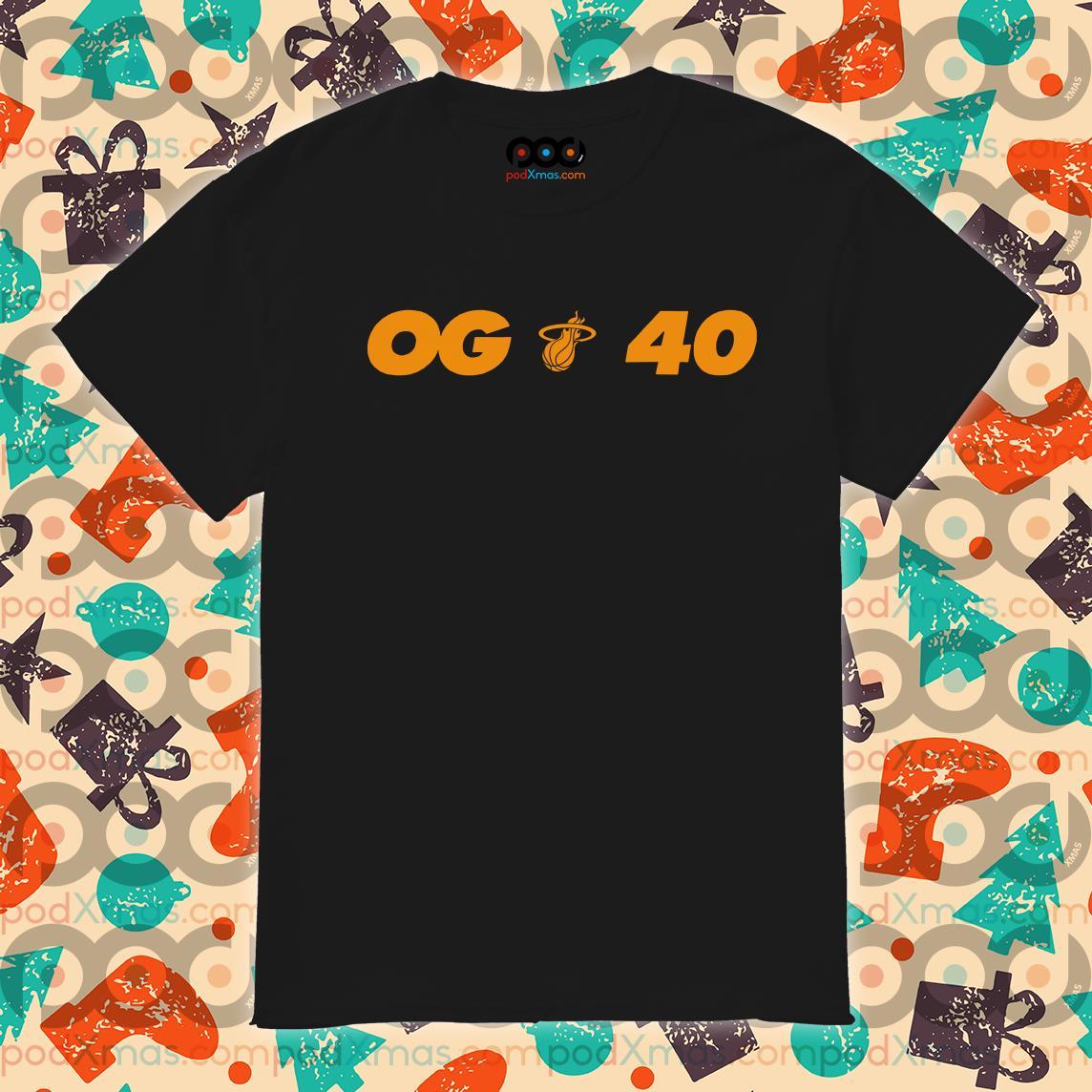 Miami Heat NBA 2019 Champion OG 40 shirt