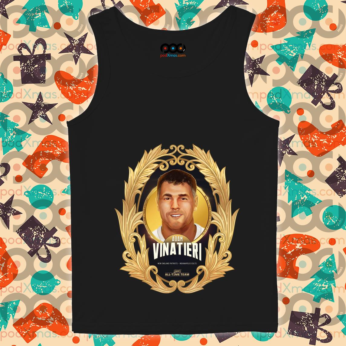 NFL 100 All-Time Team Adam Vinatieri tank top