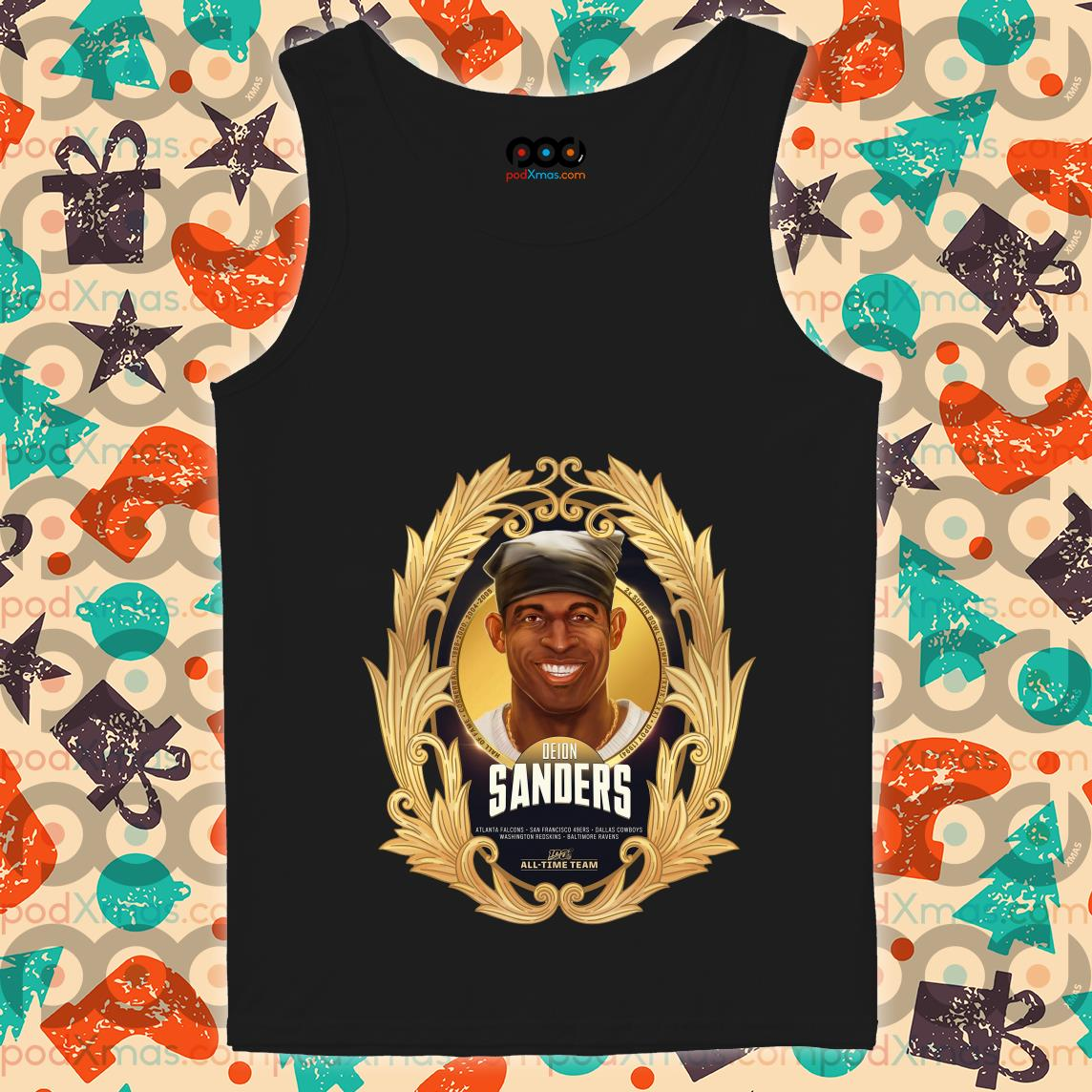 NFL 100 All-Time Team Deion Sander tank top