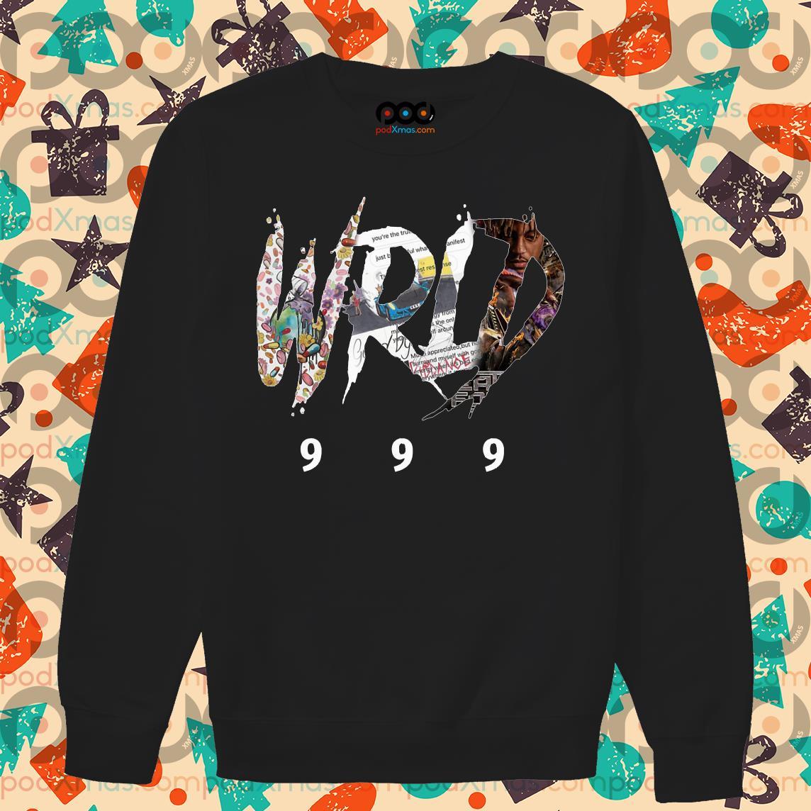 Tank top Long Sleeve Hoodie Sweatshirt Sweater RIP juice WRLD 999 T-Shirt