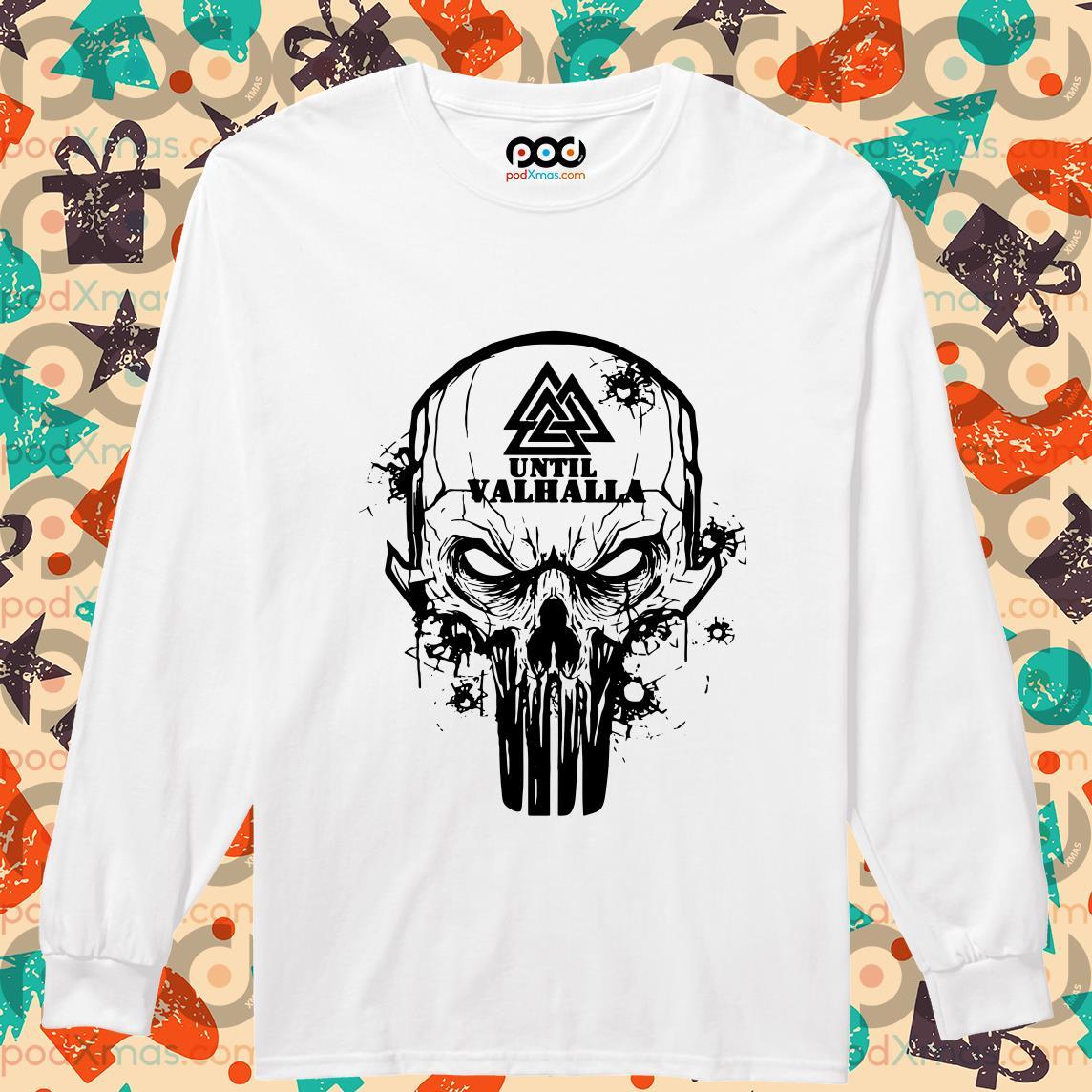 Until Valhalla Skull long sleeve