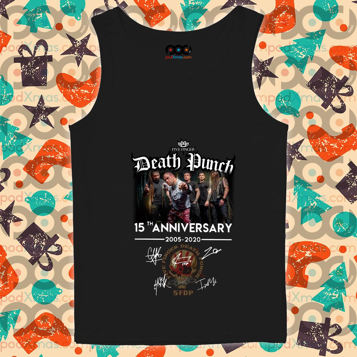 Five Finger Death Punch 15th anniversary 2005 2020 tank top