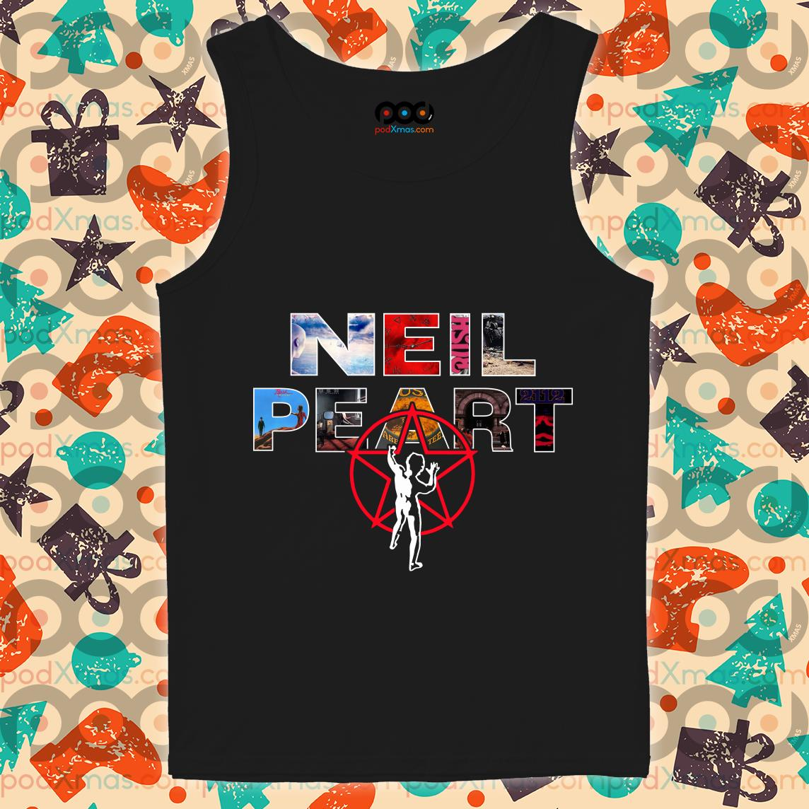 Neil Peart Rush Band logo tank top