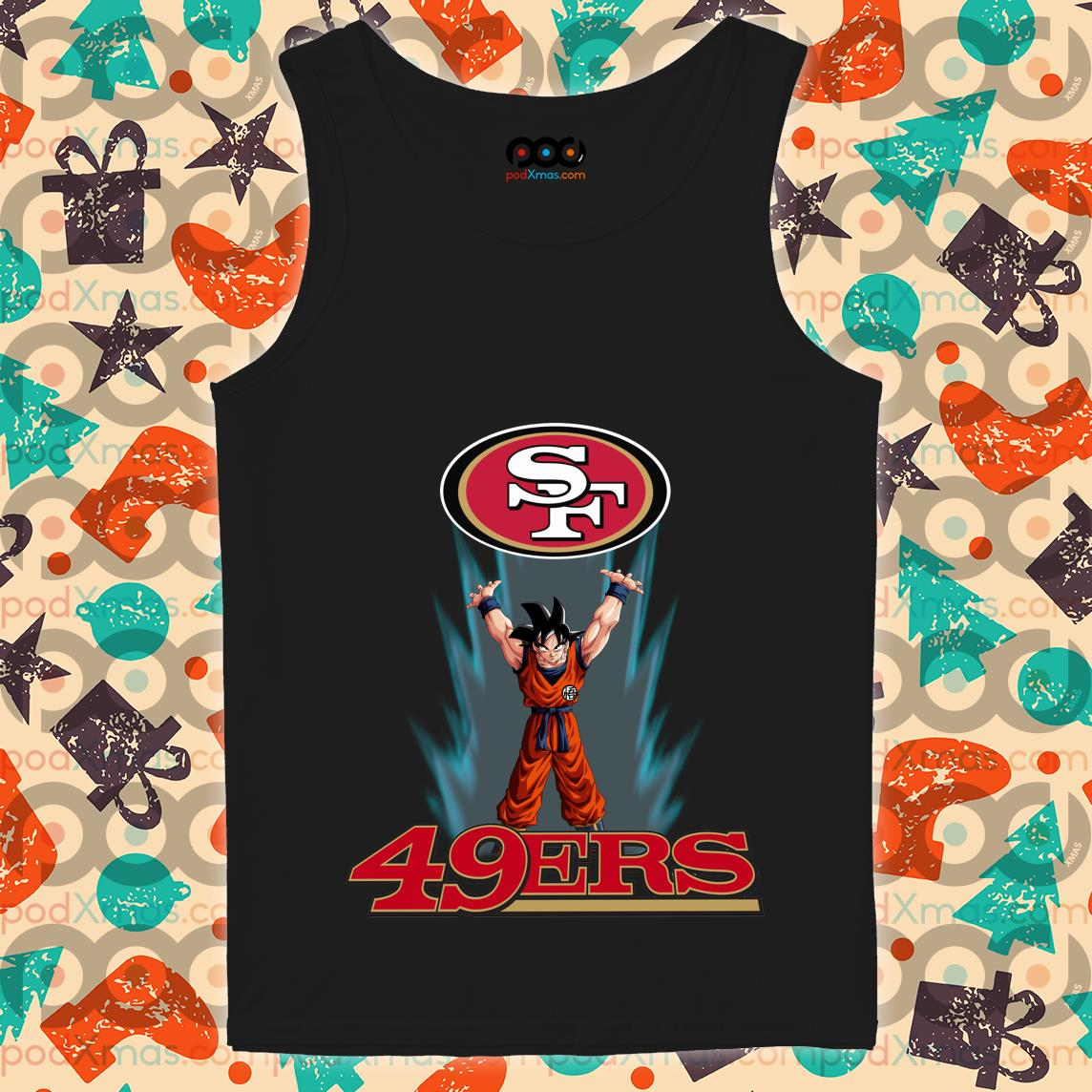 Songoku San Francisco 49ers tank top