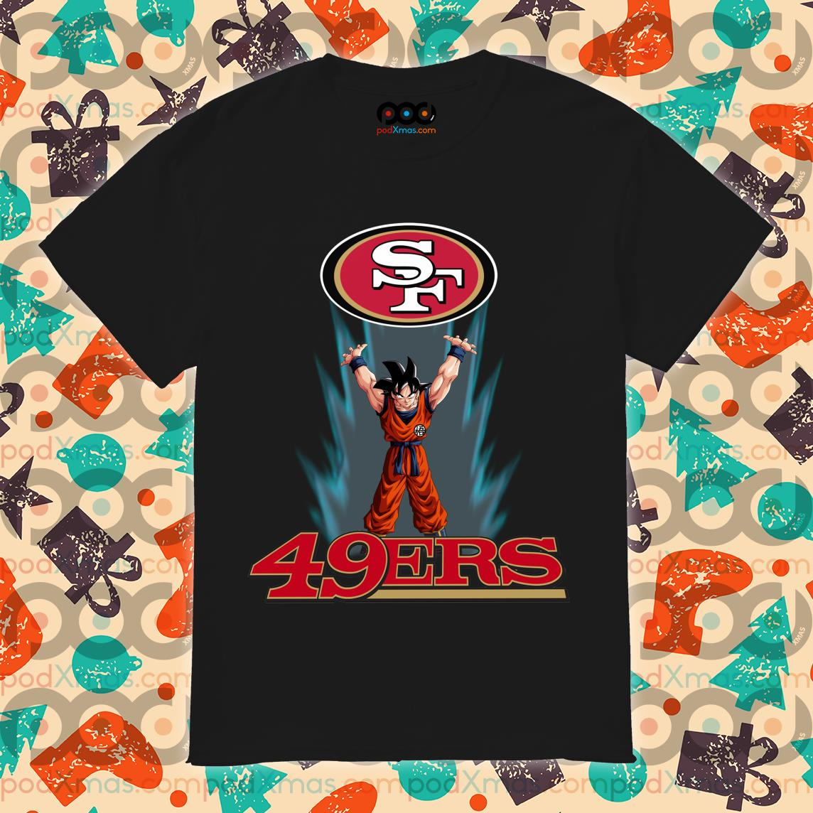 Songoku San Francisco 49ers shirt