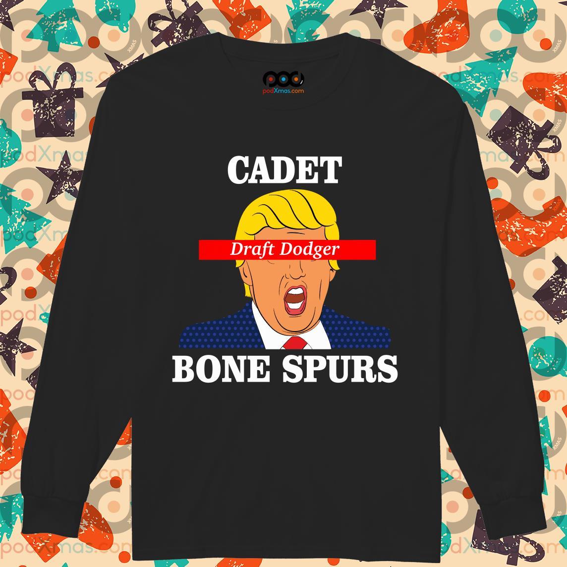 cadet bone spurs t shirt