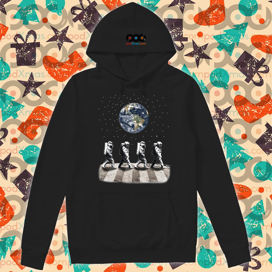 Astronaut The Beatles Abbey Road hoodie