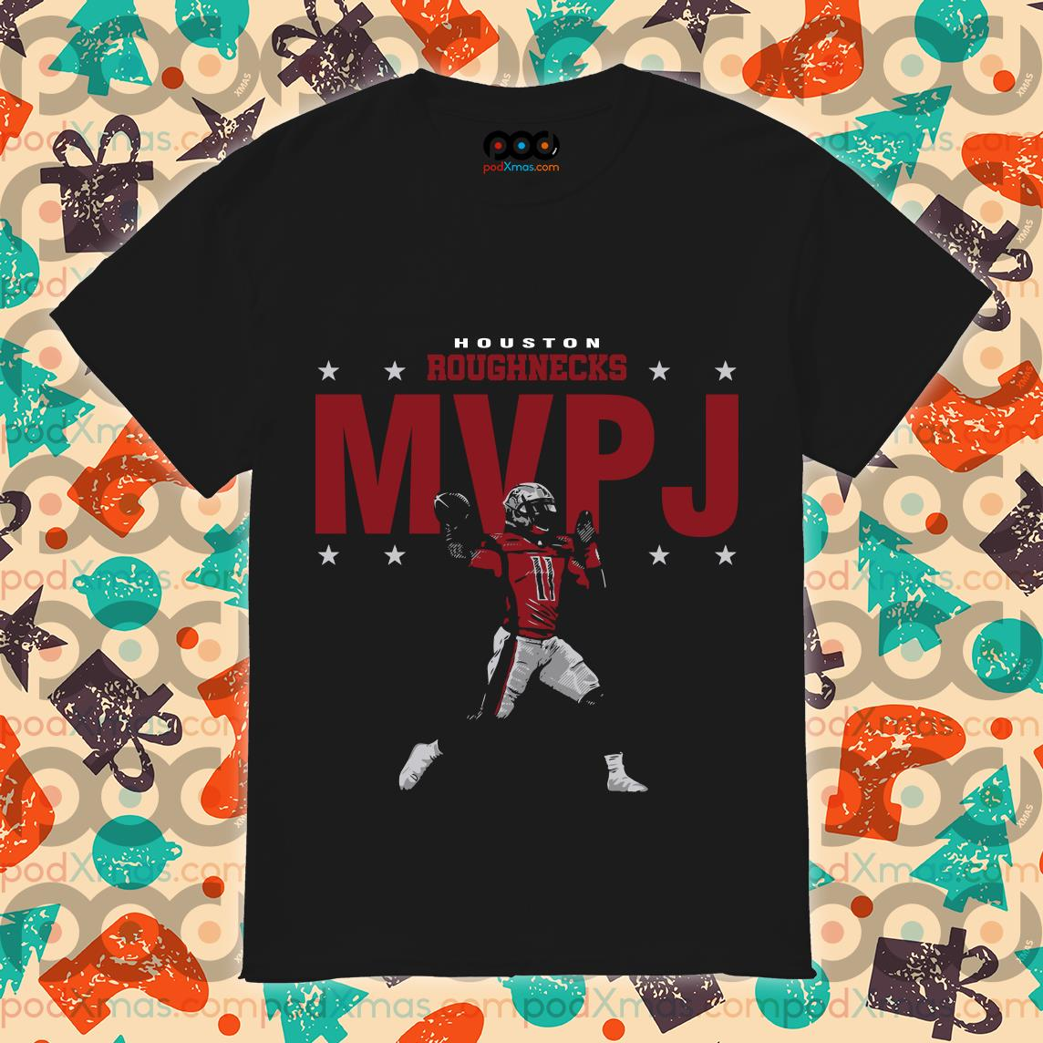 Houston Roughnecks MVP J shirt