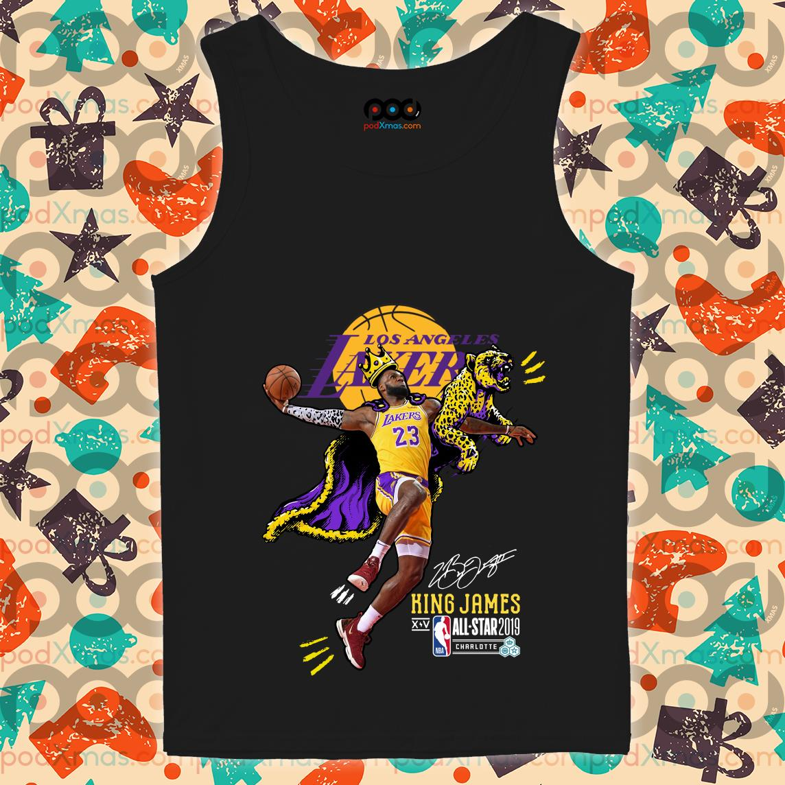 Los Angeles Lakers King James All Star 2019 tank top