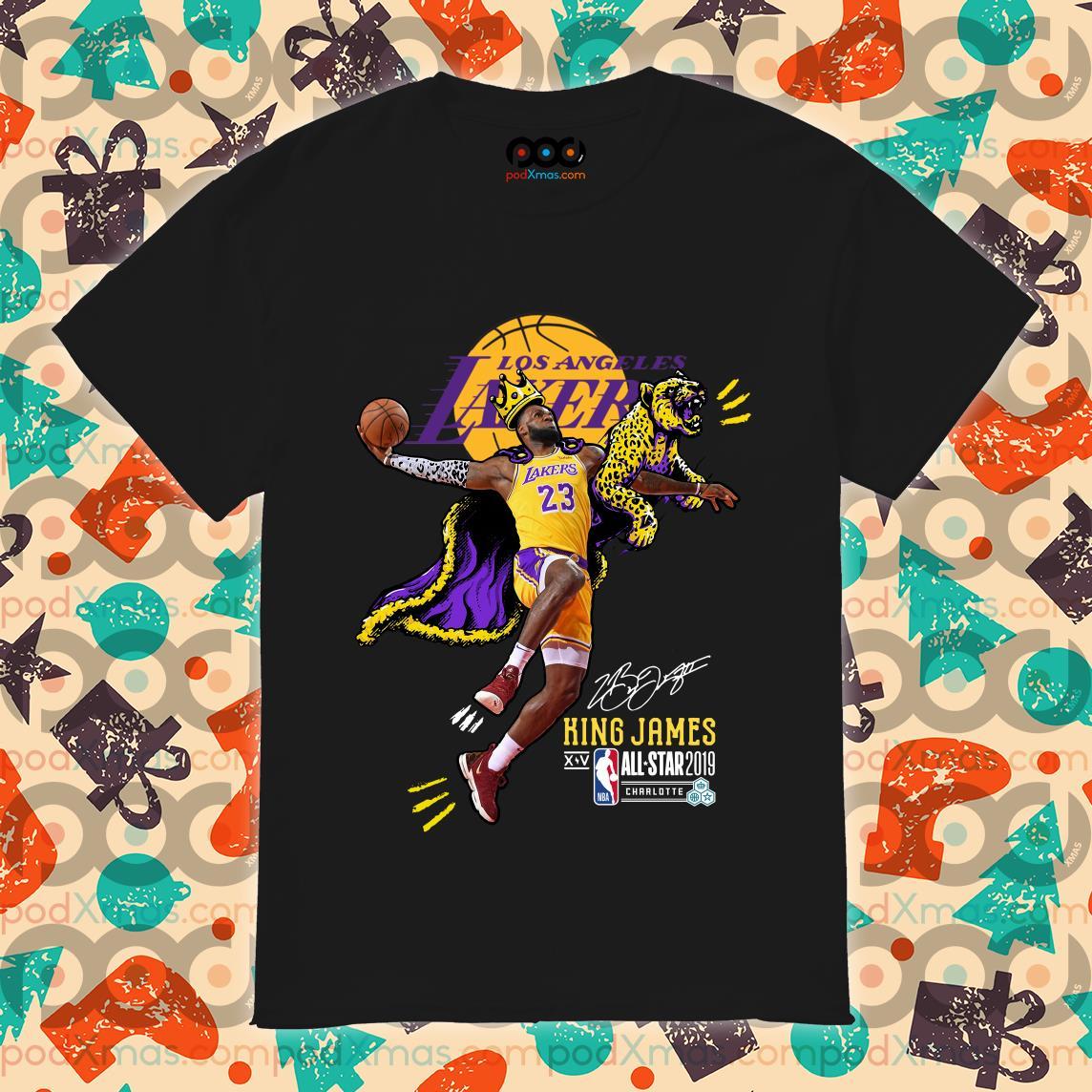 Los Angeles Lakers King James All Star 2019 shirt