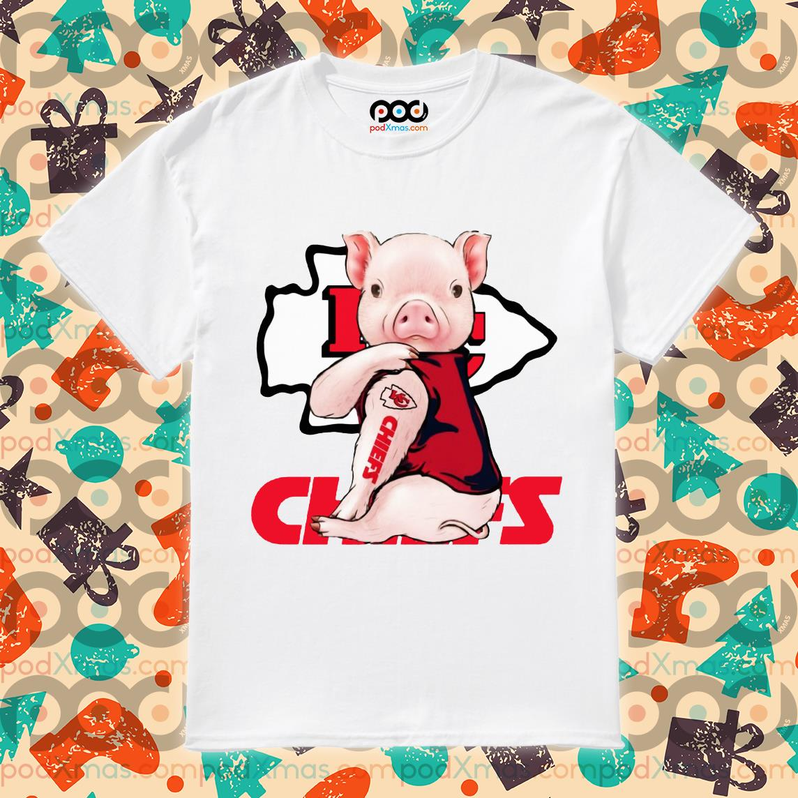 Pig Kansas City Chiefs shirt