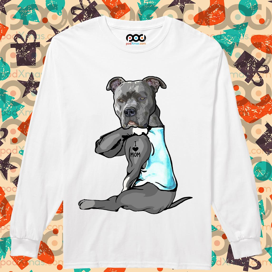PitBull Life Love Womens Long Sleeve T-Shirt