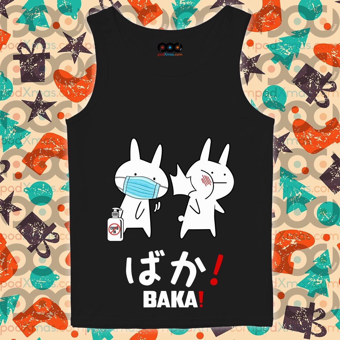 Baka Rabbit Slap Mask Covid-19 T-tank top