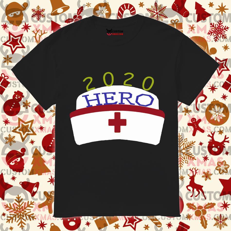 Coronavirus Pandemic 2020 Nurse Hero T-shirt