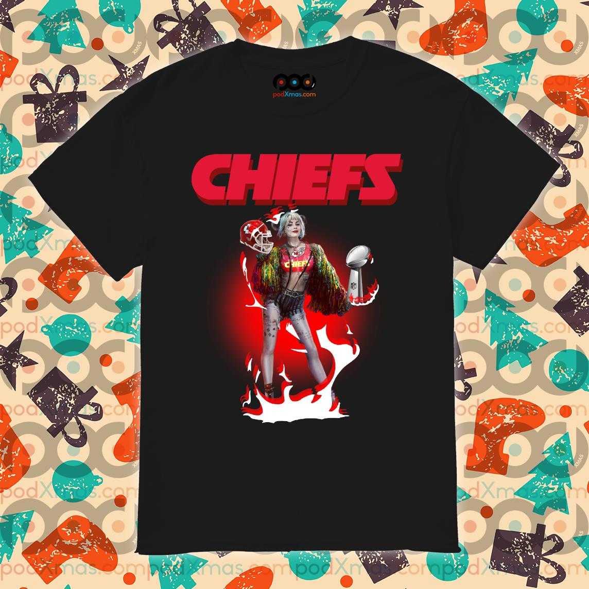 Harley Quinn Kansas City Chiefs Super Bowl LIV shirt