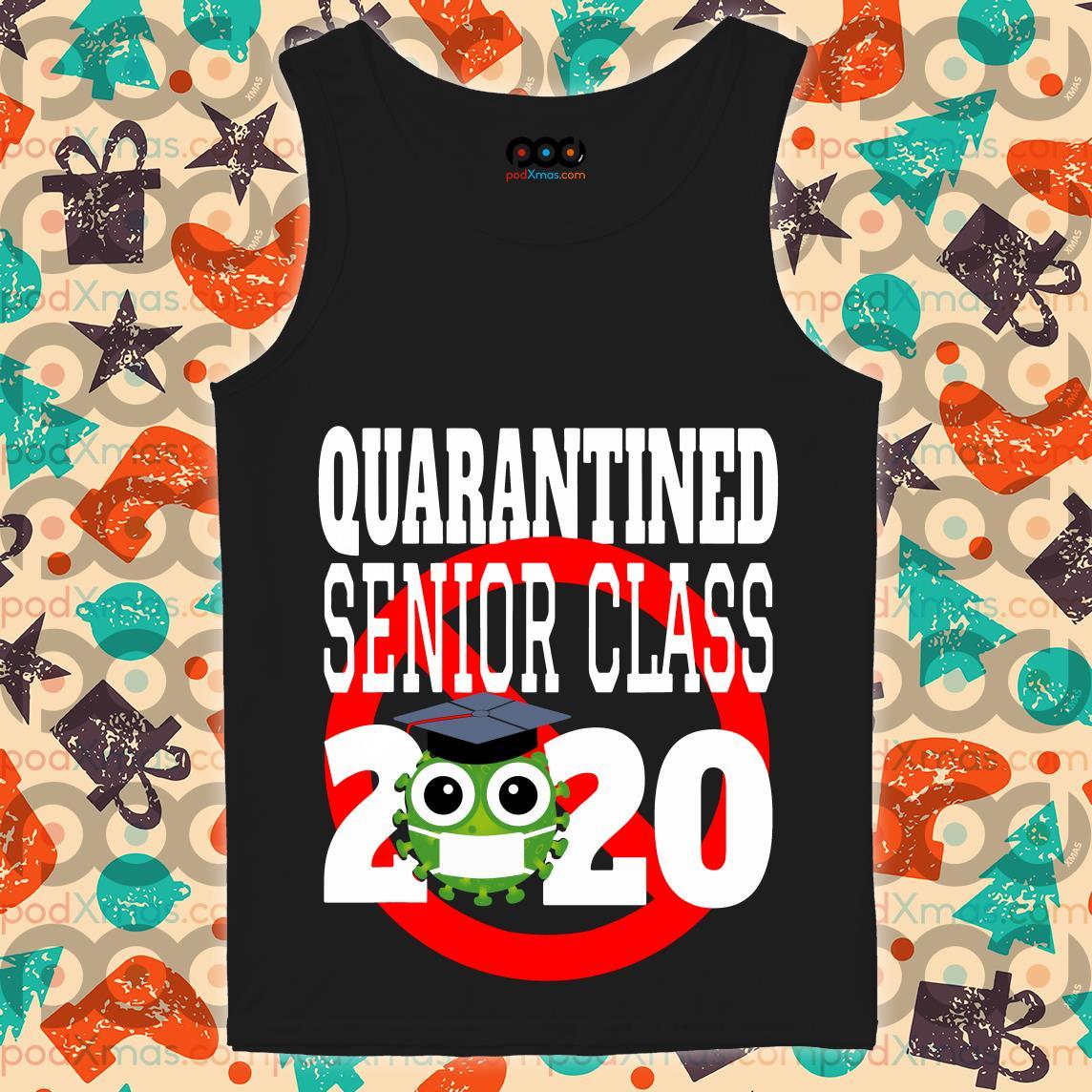 Quarantine Senior Class 2020 T-tank top